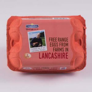 lancashire free range egg packs