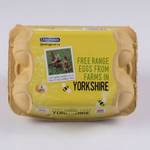 Yorkshire regional egg packs