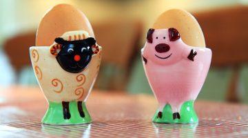 runny eggs British Lion eggs